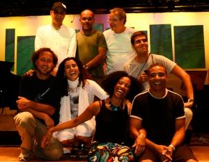 Os músicos e cantores de sergio-martins