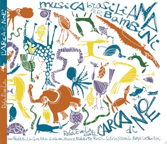 RosaEmiliaDias CD COVER ARCA DI NOE by #AndreaZanchettin